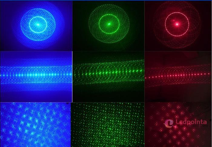 3色一体レーザーポインター