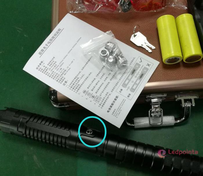 10000mwレーザーICR26650電池