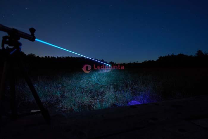 150mw 488nm青藍レーザーポインター小型