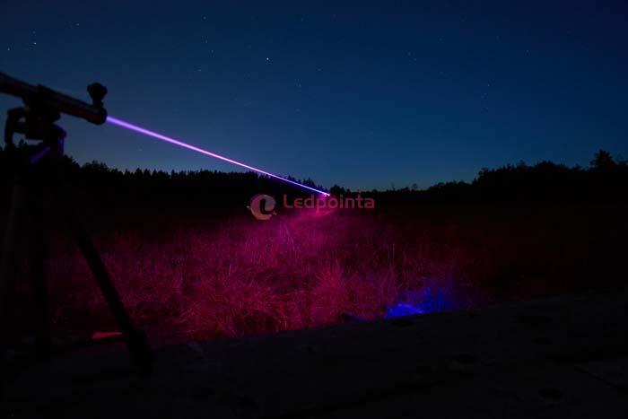 10000mw 405nm紫色レーザーポインター
