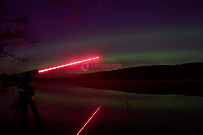 5000mw 635nm赤色レーザーポインター