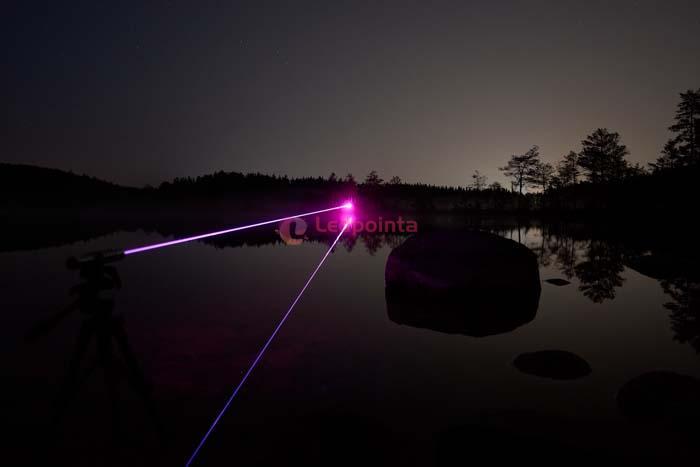 紫色レーザーポインター10000mW