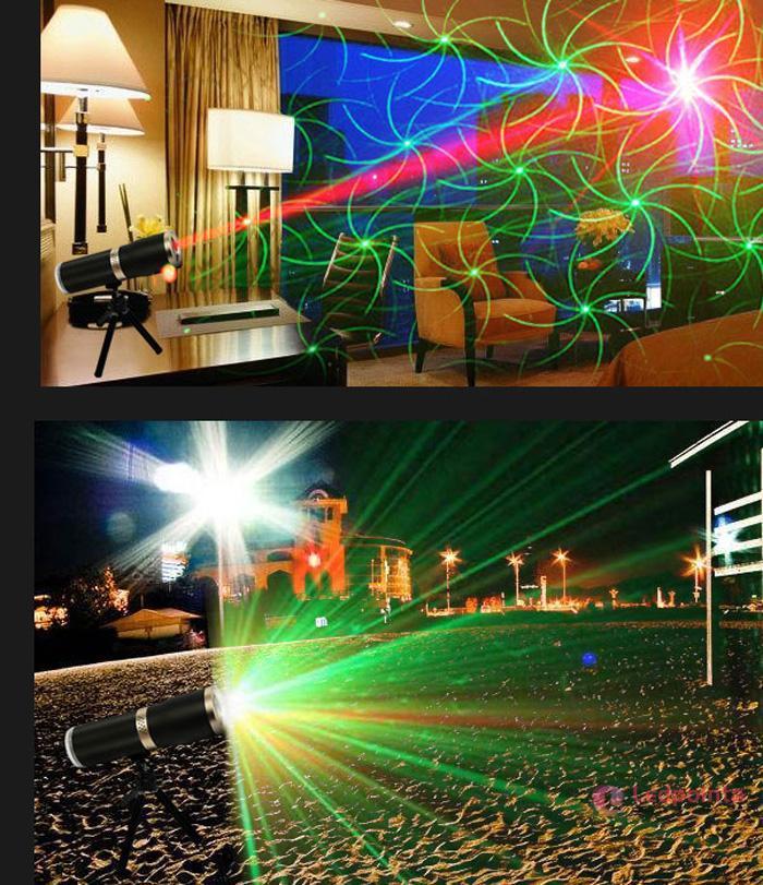 3色舞台レーザー