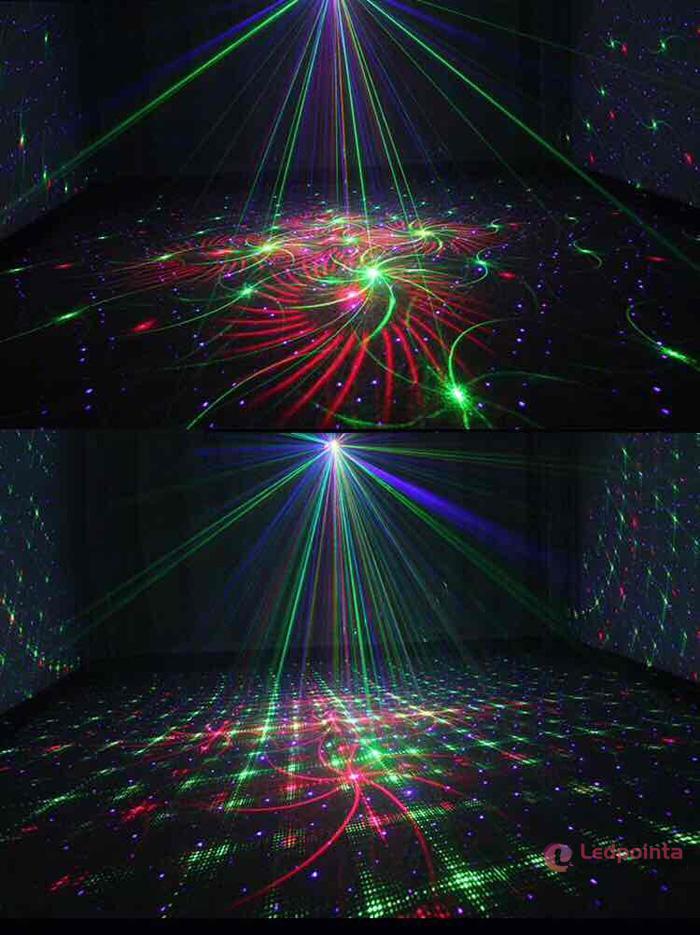 舞台レーザー光