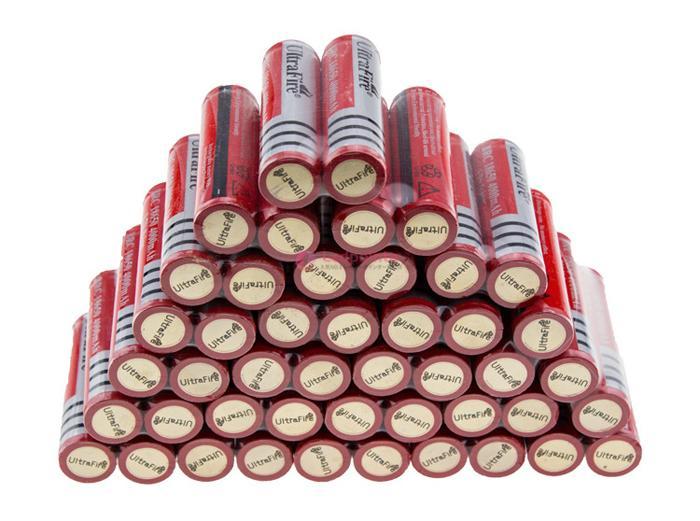 18650 リチウムオン電池