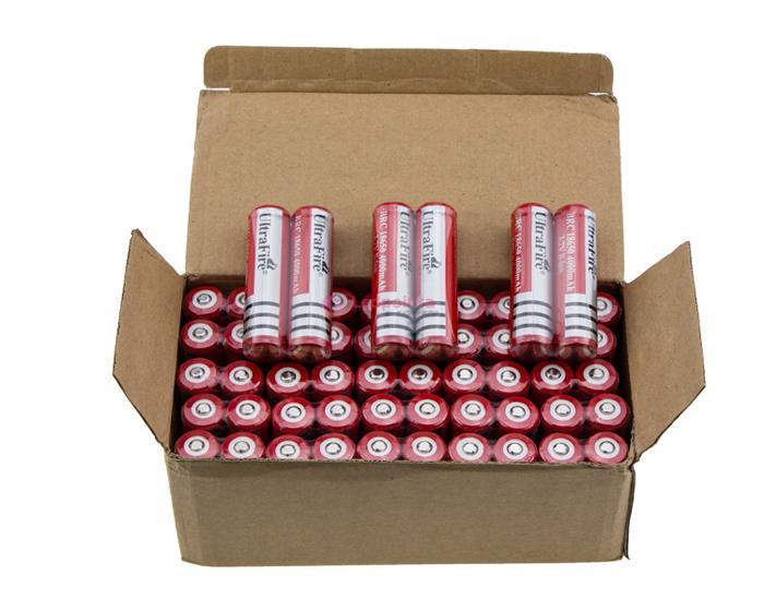 18650リチウムイオン充電池