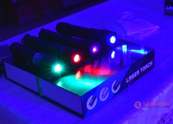 レーザーポインター100m水中使用