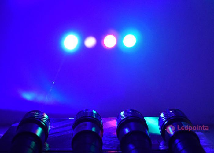 2000mw 緑色レーザーポインター長亮