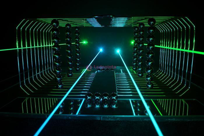 ハンドヘルドレーザーポインター充電式18350リチウムイオン電池
