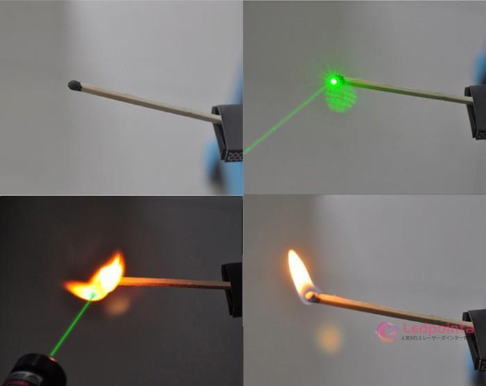 緑色レーザーポインター2W