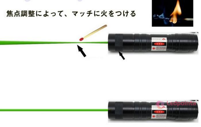 精度レーザーポインター