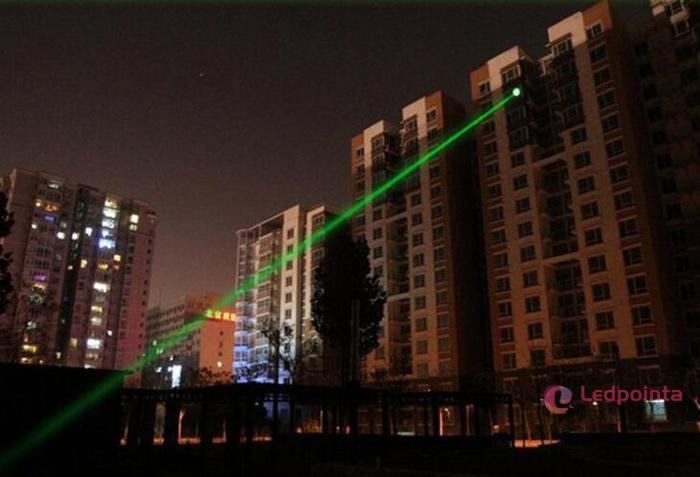 レーザーポインター緑色2in1