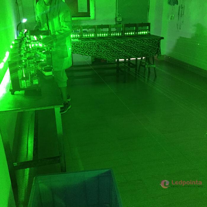焦点調整レーザーポインター緑色
