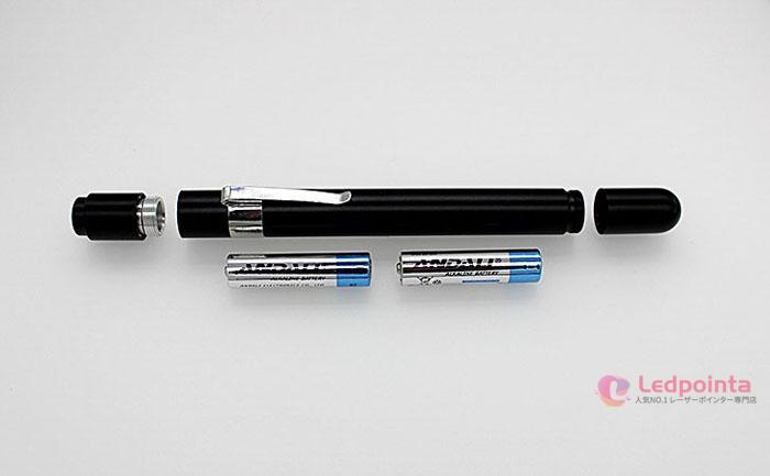 レーザーポインター目影響 紫色光ペン型200mw