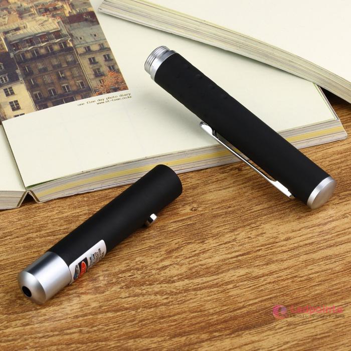 レーザーポインター紫色ペン型
