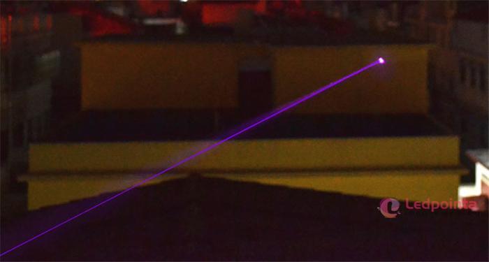 ledpointa会社製造 紫色ドットレーザー