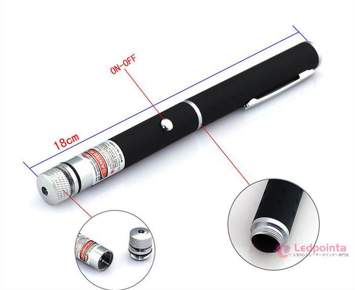 レーザーポインター50mw満天星空アダプター付き
