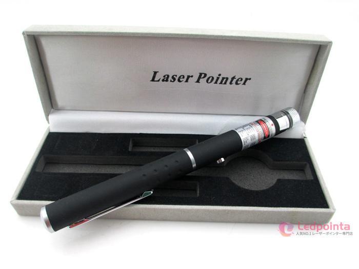 2in1紫色レーザーポインターペン型
