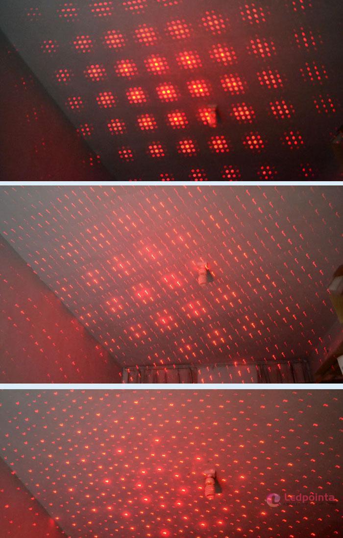 レーザーポインター赤 満天の星500mw