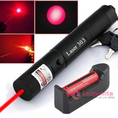 赤色レーザーポインター650nm500mw