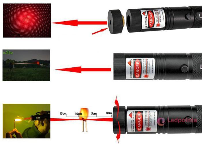 超強力レーザーポインター赤