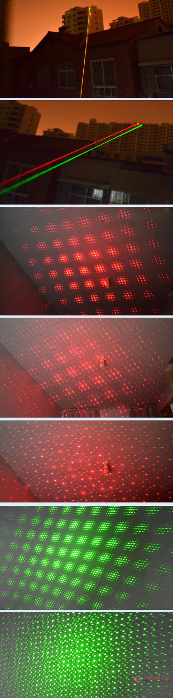 レーザーポインター緑赤違い
