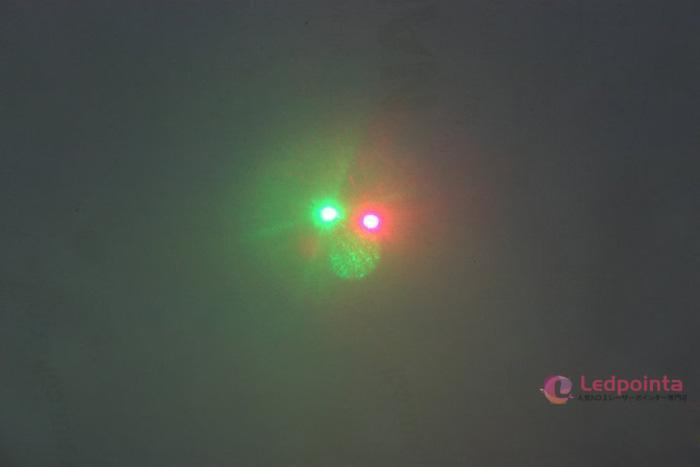 レーザーポインター赤緑