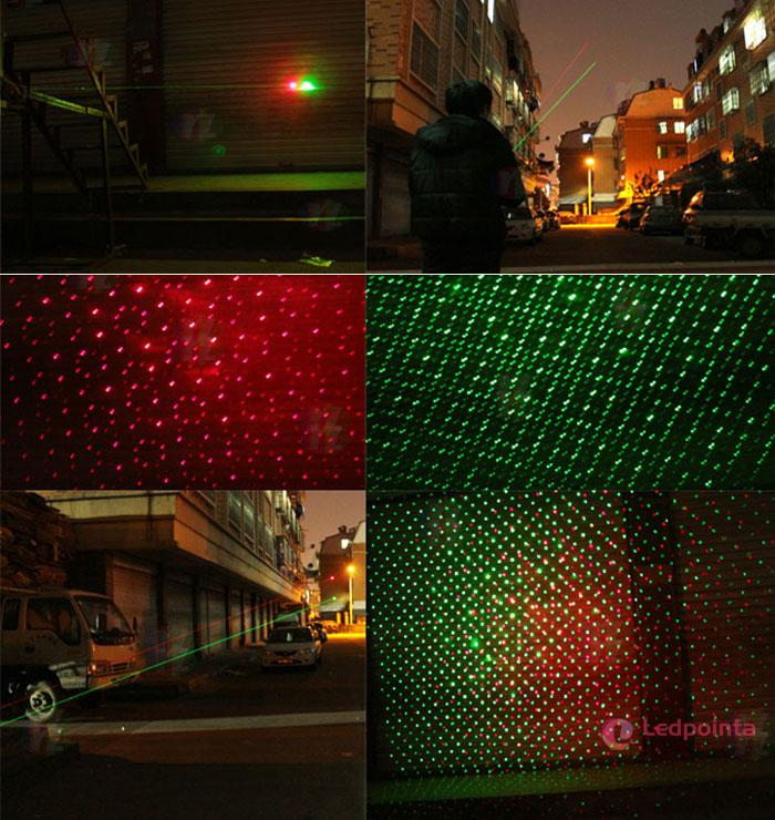 赤緑レーザーポインター