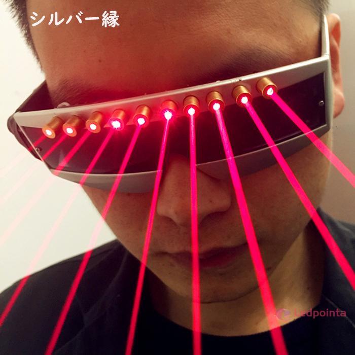LEDレーザーメガネ