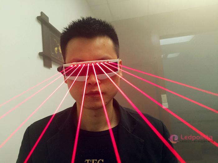 LEDライト付きレーザーメガネ