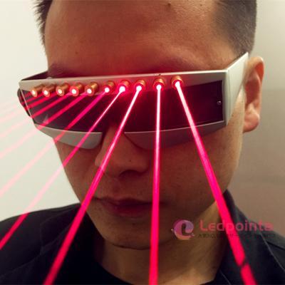 メガネレーザー パーティー  LED発光眼鏡
