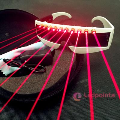 LEDメガネレーザー 赤外線LED 最新レーザー眼鏡